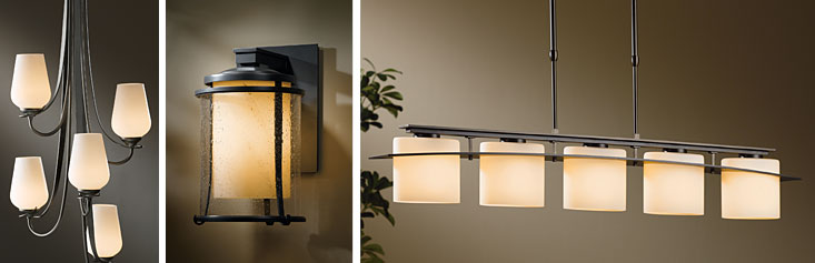 Hubbardton Forge lamps, lights, Burgess Lighting, Capitol region